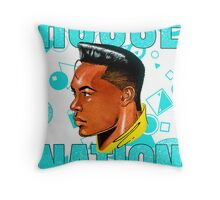 House Nation Male Throw Pillow