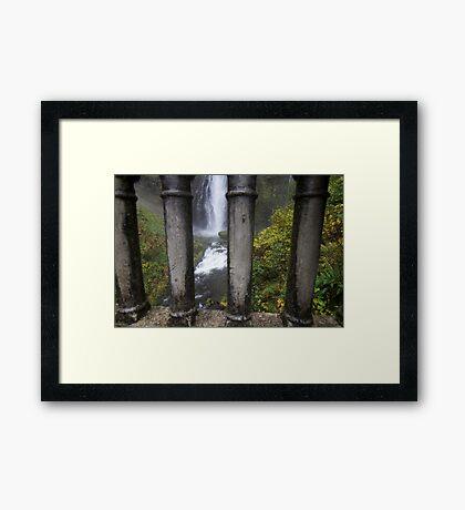 Jail of water Framed Print