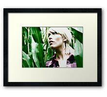 Fear of corn Framed Print
