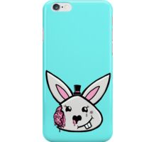 Bunny brains in formal wear iPhone Case/Skin