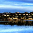 Parker Canyon Lake - Panorama by Angela Pritchard