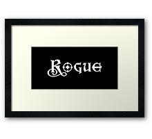 Rogue Framed Print