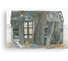 Dungeness Shack Canvas Print