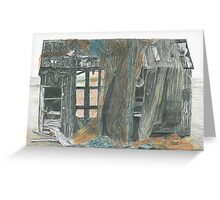 Dungeness Shack Greeting Card