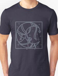 Moon and stars Unisex T-Shirt