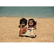 Tama, Moana & Rangi hit Coro_4 Photographic Print