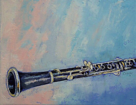 Clarinet by Michael Creese