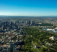 Melbourne, A Bird's Eyeview  by haymelter