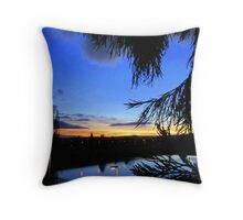Colorful Twilight Throw Pillow