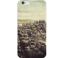 Thingvellir iPhone Case/Skin