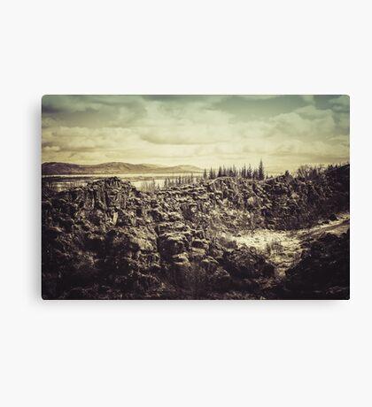 Thingvellir Canvas Print
