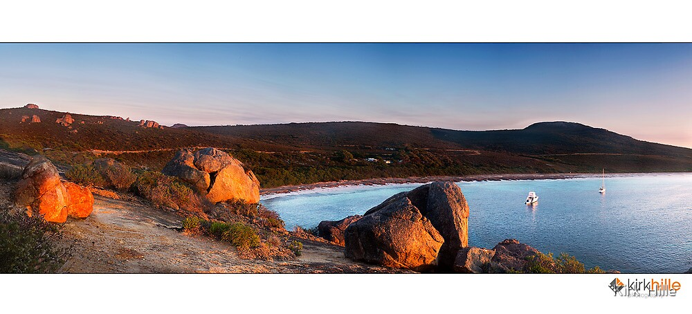 Lucky Bay II by Kirk  Hille