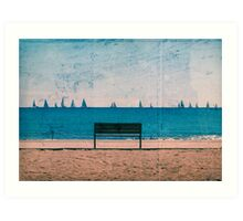 The Regatta Art Print