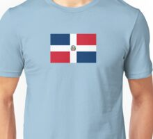 Dominican Republic Flag Duvet Sticker T-Shirt Cell Phone Case Unisex T-Shirt