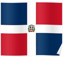 Dominican Republic Flag Duvet Sticker T-Shirt Cell Phone Case Poster