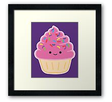 Strawberry Cupcake Framed Print