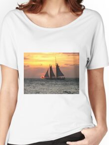 Sunset Sail in Key West Women's Relaxed Fit T-Shirt