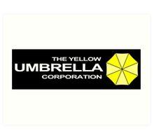 The Yellow Umbrella Corporation Art Print
