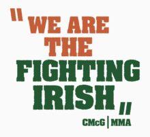 Conor McGregor - Quotes [Fighting Irish] One Piece - Long Sleeve