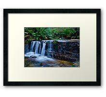 The Lovely Cascades.. Framed Print