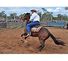 Australian Cowboy Photographic Print