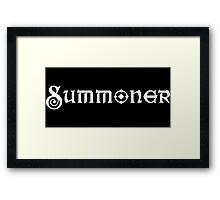 Summoner Framed Print