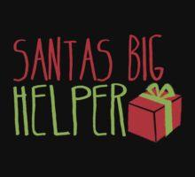 Santa's BIG Helper One Piece - Short Sleeve