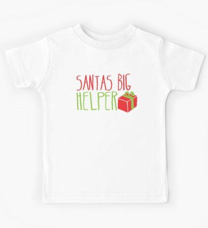 Santa's BIG Helper Kids Tee