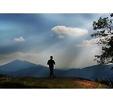 Walking Towards the Unknown... Photographic Print