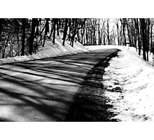 A Road Less Traveled... Photographic Print