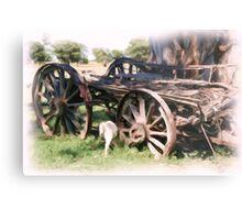 The old Wagon Metal Print