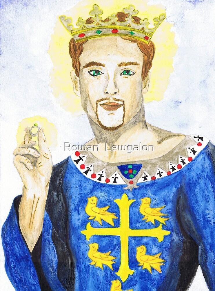 Saint Edward the Confessor by Rowan  Lewgalon