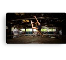 Girl likes to Fly Canvas Print