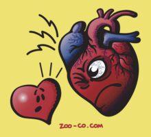 Heart vs Heart Kids Tee