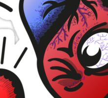 Heart vs Heart Sticker