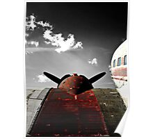VINTAGE DC-3 AIRCRAFT Poster