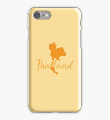 Thailand map fancy iPhone Case/Skin