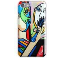 PICASSO PAINTING BY NORA The Artist iPhone Case/Skin