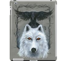 Ghost And The Three-Eyed Raven iPad Case/Skin