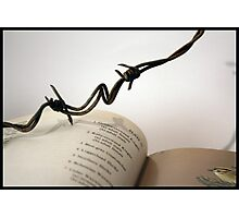Book with wire 2 Photographic Print