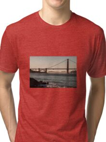 Golden gate bridge Tri-blend T-Shirt