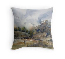 Some place, Some time Throw Pillow