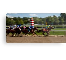 Top of the Stretch - Saratoga Springs, NY Metal Print