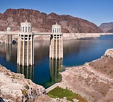 Hoover Dam - Lake Mead, AZ by Stephen Cross Photography