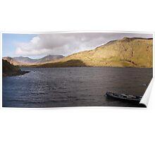 Connemara Rural Landscape Photography, Ireland Poster
