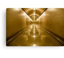 Inside Hoover Dam 1 Canvas Print