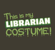 This is my LIBRARIAN costume by jazzydevil