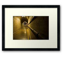 Inside Hoover Dam 2 Framed Print