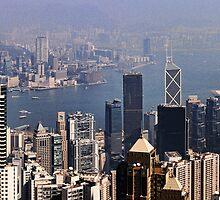 Hong Kong Harbor by leungnyc