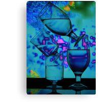 Blue Work  Canvas Print